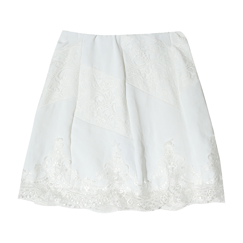 lace breeze patch banding mini sk