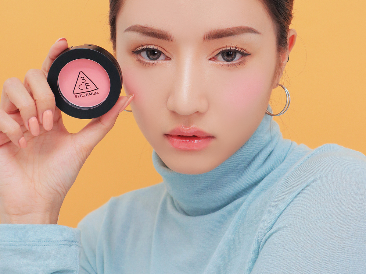 3CE FACE BLUSH #COTTON CANDY