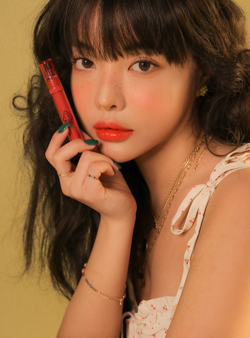 3CE FLASH LIP TINT #VANISHING CORAL