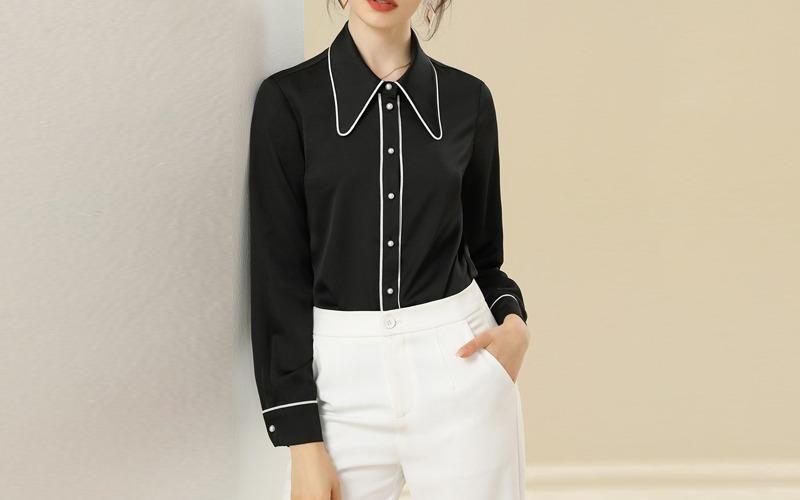 Line blouse v138973