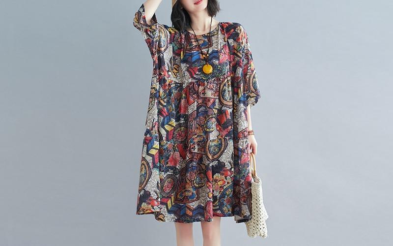 7부 loose dress s139484