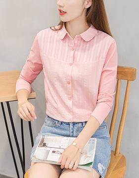 플랫 로드 셔츠 티 v50572