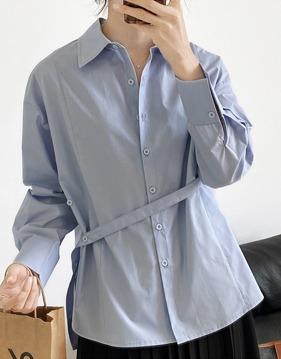 Unbalance strap shirt s138635