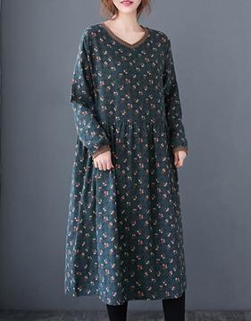 Floral loose dress s138741