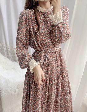 lace floral dress s139126