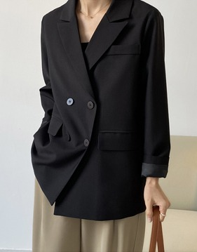 Tailored double Jacket v139068