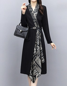 Scarf belt dress s138820