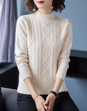 [캐시미어100%]반목/터틀넥 2타입 프리미엄 스웨터 v146205