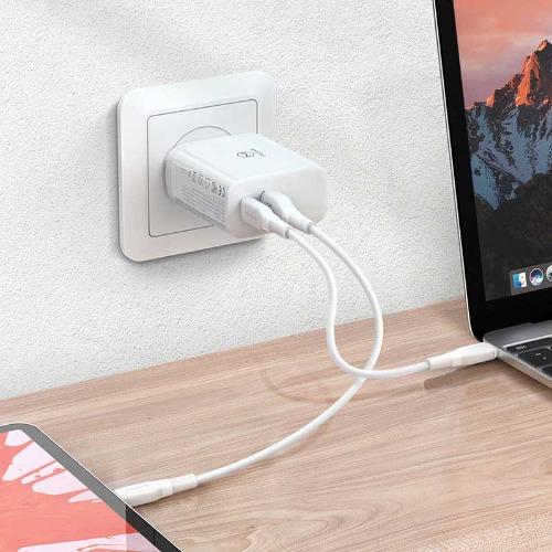 [Mcdodo] 30W USB C타입+A타입 2포트 고속 충전기