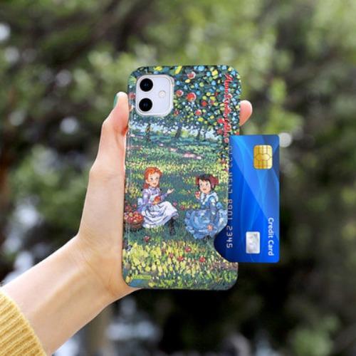 [ANNE] 빨강머리앤 카드스냅 3D유광하드 HH