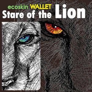 [ES] 에코 월렛 stare of the lion[5단포켓]