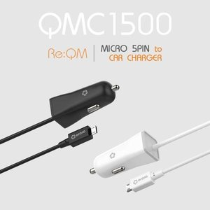 [Re:QM] 리큐엠 차랑용 일체형 충전기 QMC1500 [5핀]