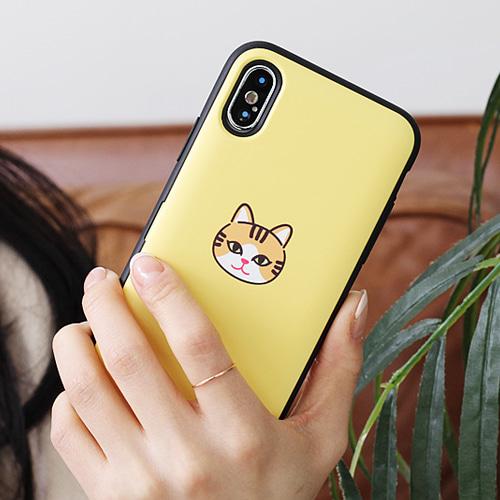 [TC] 트라이코지 카드도어범퍼[고양이얼굴]