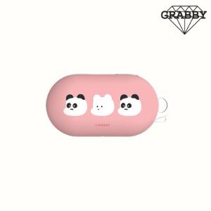 [GRABBY] 버즈 / 버즈플러스 케이스[매트 판다와 백곰] MPK