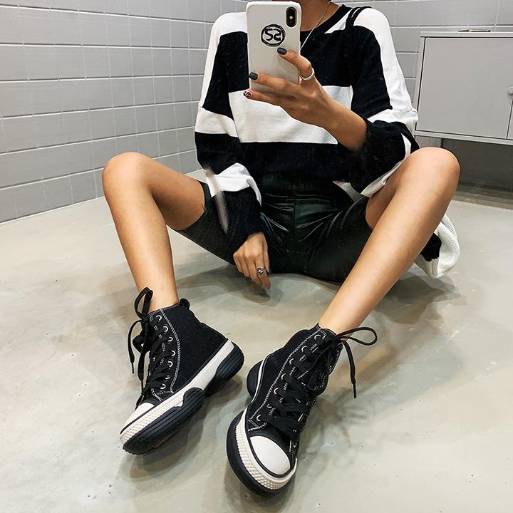 어글리캔버-shoes