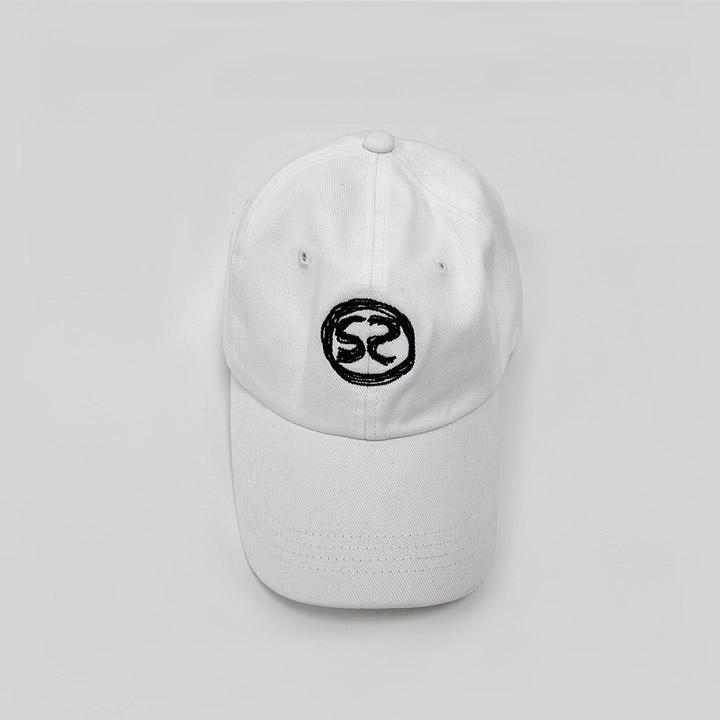 [SS-0023] S2 LOGO WHITE CAP