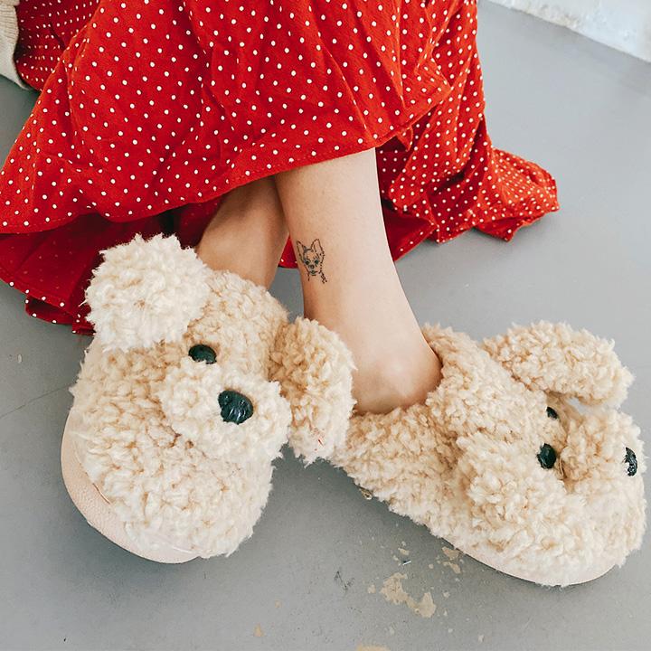 팡이슬리퍼-shoes