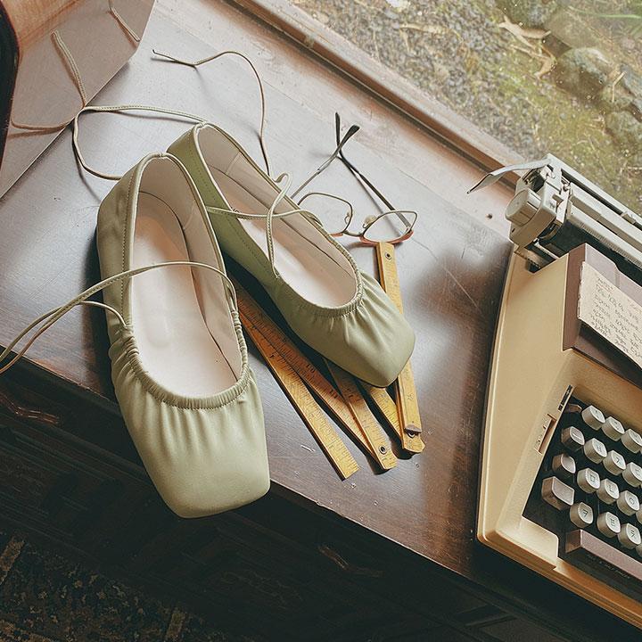 스트랩플랫슈즈-shoes