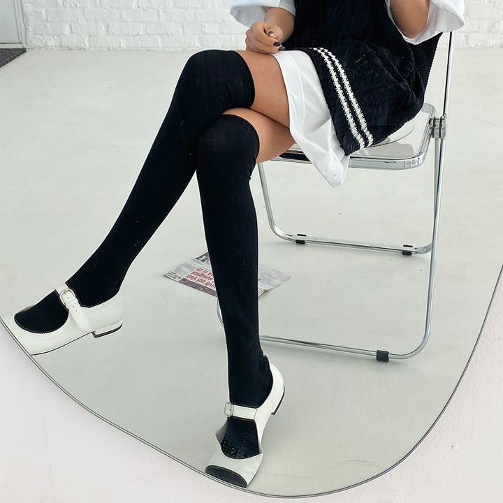 베이직니하이삭스-socks