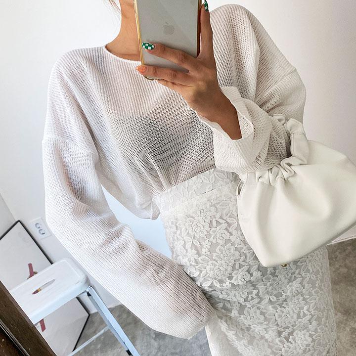 린넨날날이니트-knit