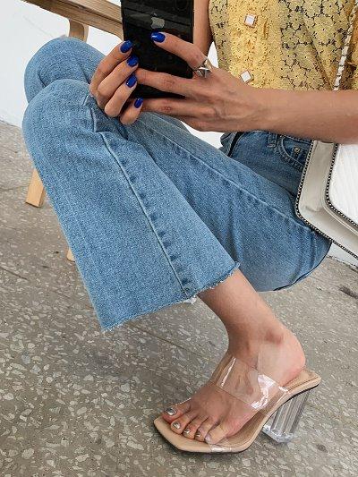 클리어슬링힐-shoes
