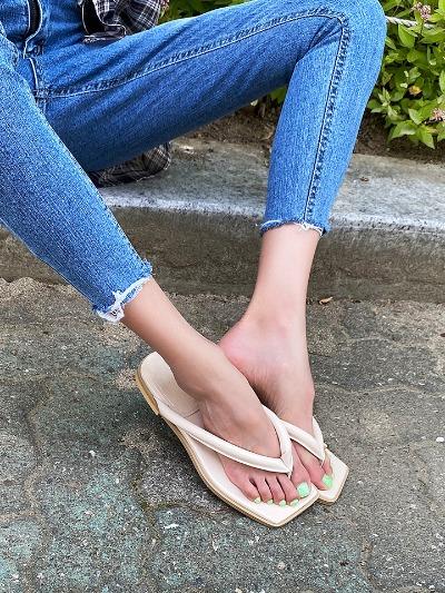 스퀘어플랩-shoes