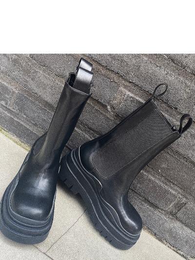 웨이브통굽-shoes