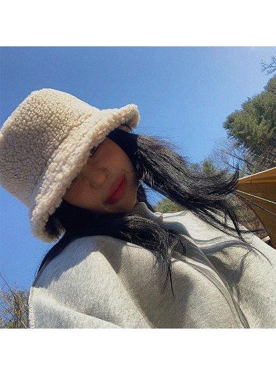 뽀글이벙거지-hat