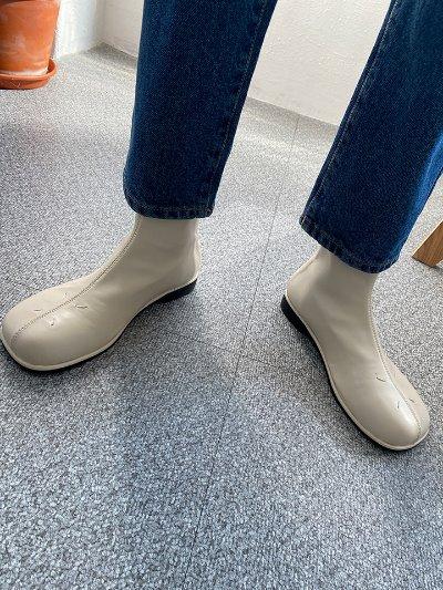 엘라스판앵클부츠-shoes
