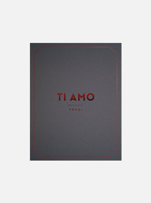 TVXQ! TI AMO PHOTO BOOK