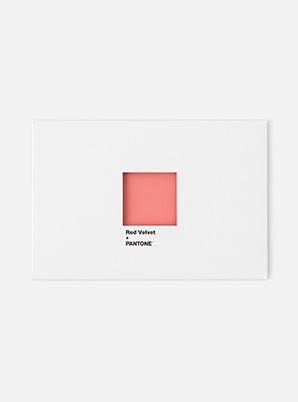 [PANTONE SALE] Red Velvet  SM ARTIST + PANTONE™ POST CARD