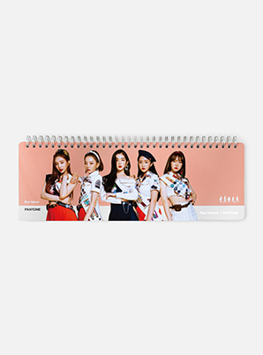 [PANTONE SALE] Red Velvet  SM ARTIST + PANTONE™  PHOTO WEEKLY PLANNER