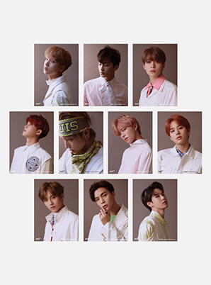 NCT 127 4X6 PHOTO + POST CARD SET - Regular-lrregular