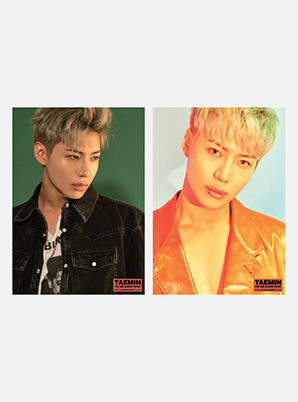 TAEMIN A4 PHOTO - MOVE