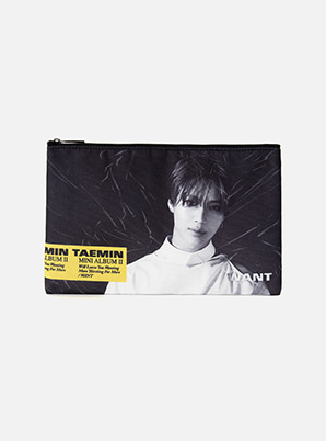 [ONLINE LIMITED] TAEMIN PORTRAIT POUCH - WANT