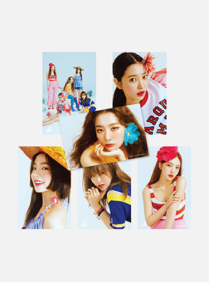 Red Velvet 4X6 PHOTO SET - Summer Magic