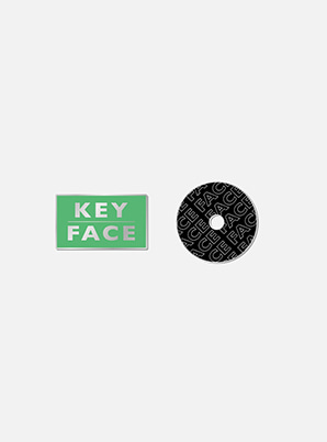 KEY BADGE - FACE