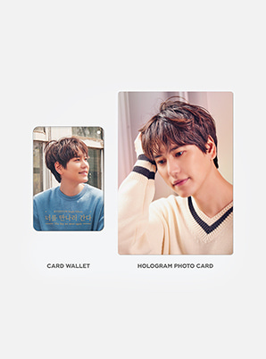 KYUHYUN HOLOGRAM CARD HOLDER SET - The day we meet again