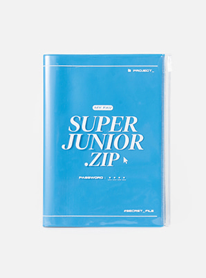 SUPER JUNIOR ZIPPER NOTE