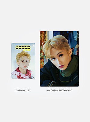 NCT 127 HOLOGRAM CARD HOLDER SET - WE ARE SUPERHUMAN