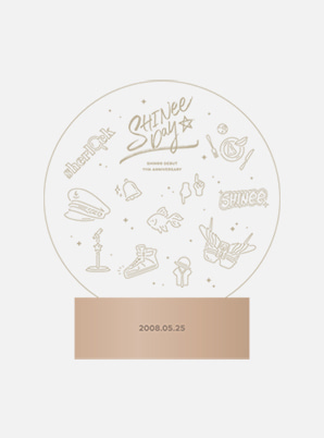 SHINee DEBUT 11th ANNIVERSARY EXHIBITION MOOD LAMP