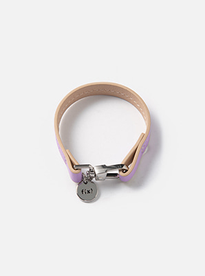 f(x) COLOR LEATHER BRACELET