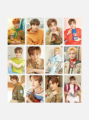 NCT DREAM 4X6 PHOTO + FILM SET - SUMMER VACATION KIT