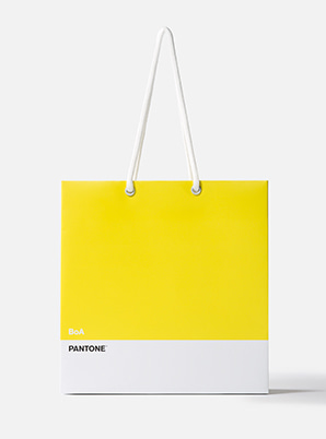 [PANTONE SALE] BoA  2019 SM ARTIST + PANTONE™ SHOPPING BAG SET