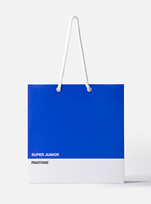 [PANTONE SALE] SUPER JUNIOR  2019 SM ARTIST + PANTONE™ SHOPPING BAG SET