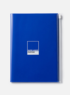 [PANTONE SALE] SUPER JUNIOR  2019 SM ARTIST + PANTONE™ ZIP NOTE