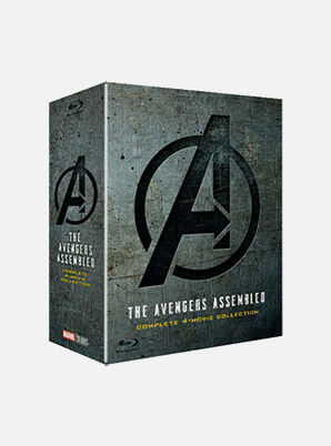[MD &P!CK] Avengers 1-4 Movie collection (2D Blu-ray)