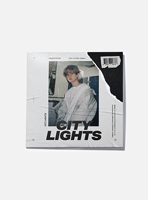 BAEKHYUN LP COASTER - City Lights