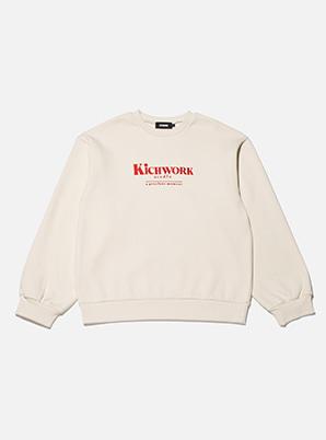 [A PRECIOUS MOMENT] KICHWORK  collabo classic sweatshirt