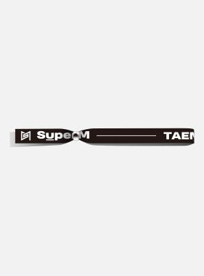 TAEMIN POP-UP FABRIC BRACELET - SuperM